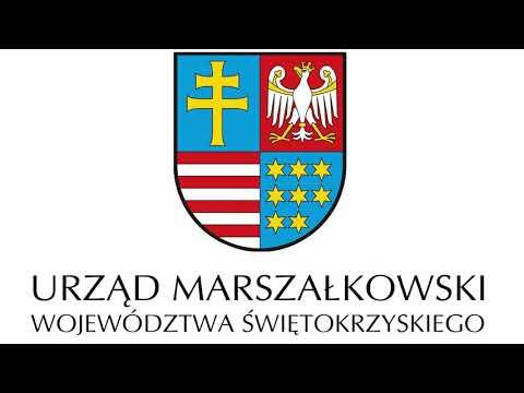 Insygnia Województwa Świętokrzyskiego: Herb Województwa. Audiodeskrypcja