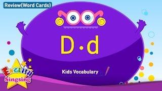Kids từ vựng biên soạn - Words bắt đầu với D, d 2