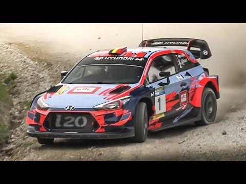 RallyLegend 2019 Friday Shakedown: Subaru 555, 307 WRC, Audi S1 EKS RX, MG Metro 6R4