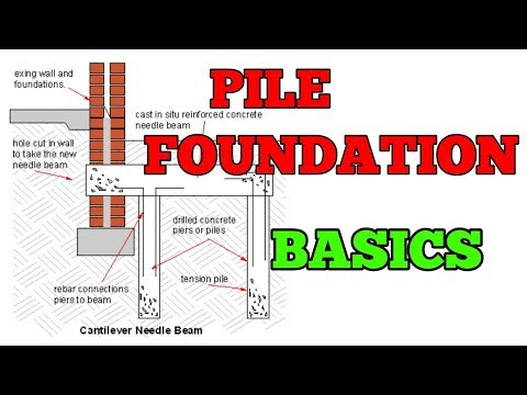 Pile Foundations| Construction Procedure || Group of Pile || Types