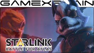 Wolf's Introduction Cutscene in Starlink + Star Fox (Switch)