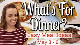 WHAT'S FOR DINNER? | EASY DINNER IDEAS | MANDY IN THE MAKING