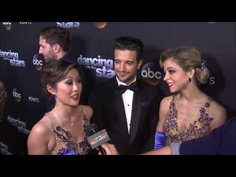 On the Red Carpet at Dancing With The Stars – WEEK 8