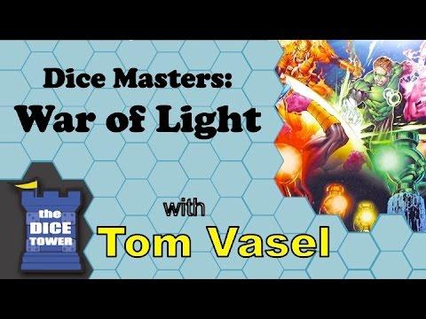 Dice Tower Reviews: DC Comics Dice Masters: War of Light