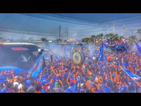 """""""Banderazo EMELEC 27/11/2016"""" Barra: Boca del Pozo • Club: Emelec"""