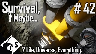 Survival, Maybe... #42 Answer to the ultimate question... (A Space Engineers Survival Series)