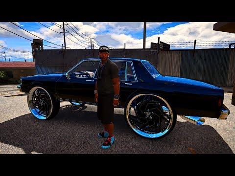 Big Box Chevrolet Caprice Classic on 34 inch Amani Wheels - Grand Theft Auto V - Donk Mods