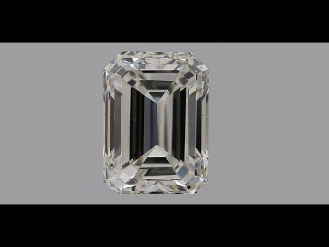 Emerald Cut CVD Diamond 2.00ct H VS2 IGI Certified