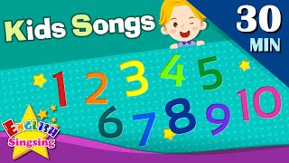 123 Number Song, Sports Song +More Kids Songs | Learn English for Kids | Collection of Words Songs
