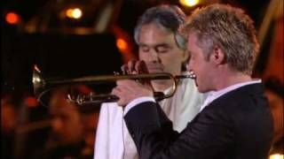 ANDREA BOCELLI (HQ) & CHRIS BOTTI - ITALIA