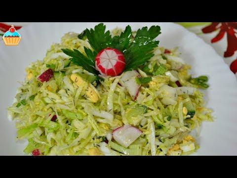 Ну, оОчень вкусный - Салат Весенний из Капусты!