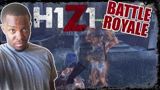 BOO BOO GAMEPLAY.... LITERALLY!!!  - H1Z1 Team Battle Royale Gameplay | H1Z1 Team BR 5 Person