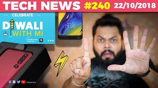 Honor Magic 2 with 6 cameras, Mi Mix 3 960Fps Slowmo, Oppo Cheating Scores, Mi Diwali Sale-TTN#240