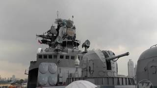 WATCH | Russian anti-submarine ship, Admiral Tributs is back in Manila
