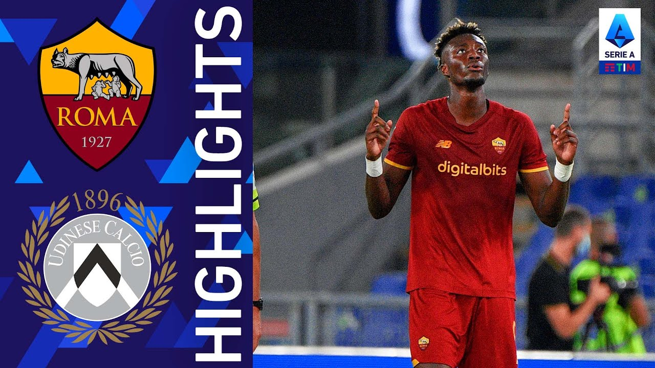 Roma 1-0 Udinese | Vittoria di misura per i Giallorossi | Serie A TIM 2021/22