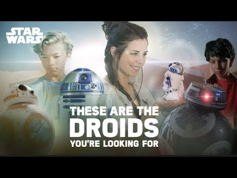 These Are The Droids You're Looking For (Star Wars App-Enabled Droids By Sphero)