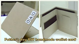 DIY Fathers Day Card | Wallet Card Tutorial