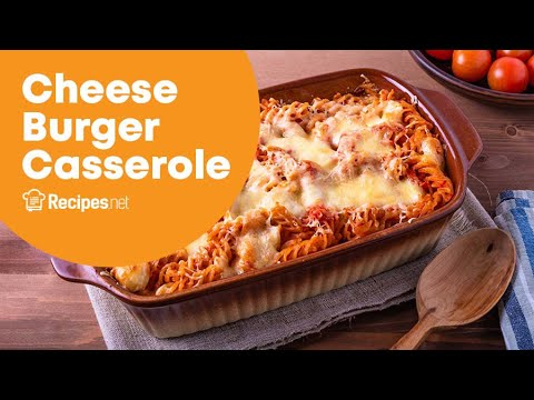 Easy Cheeseburger Casserole Recipe