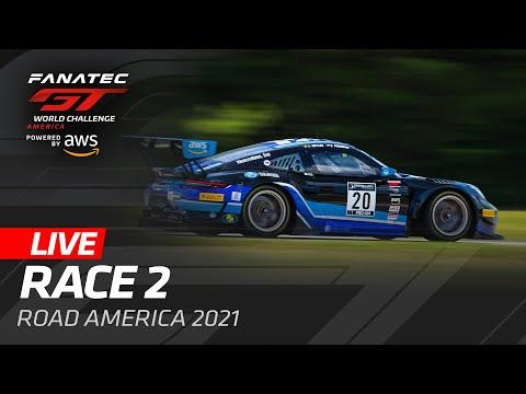 ブランパンGT 2021 ロード・アメリカ GT レース2動画