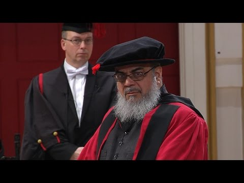 Mohammad Shahid Raza - Honorary Degree - University of Leicester
