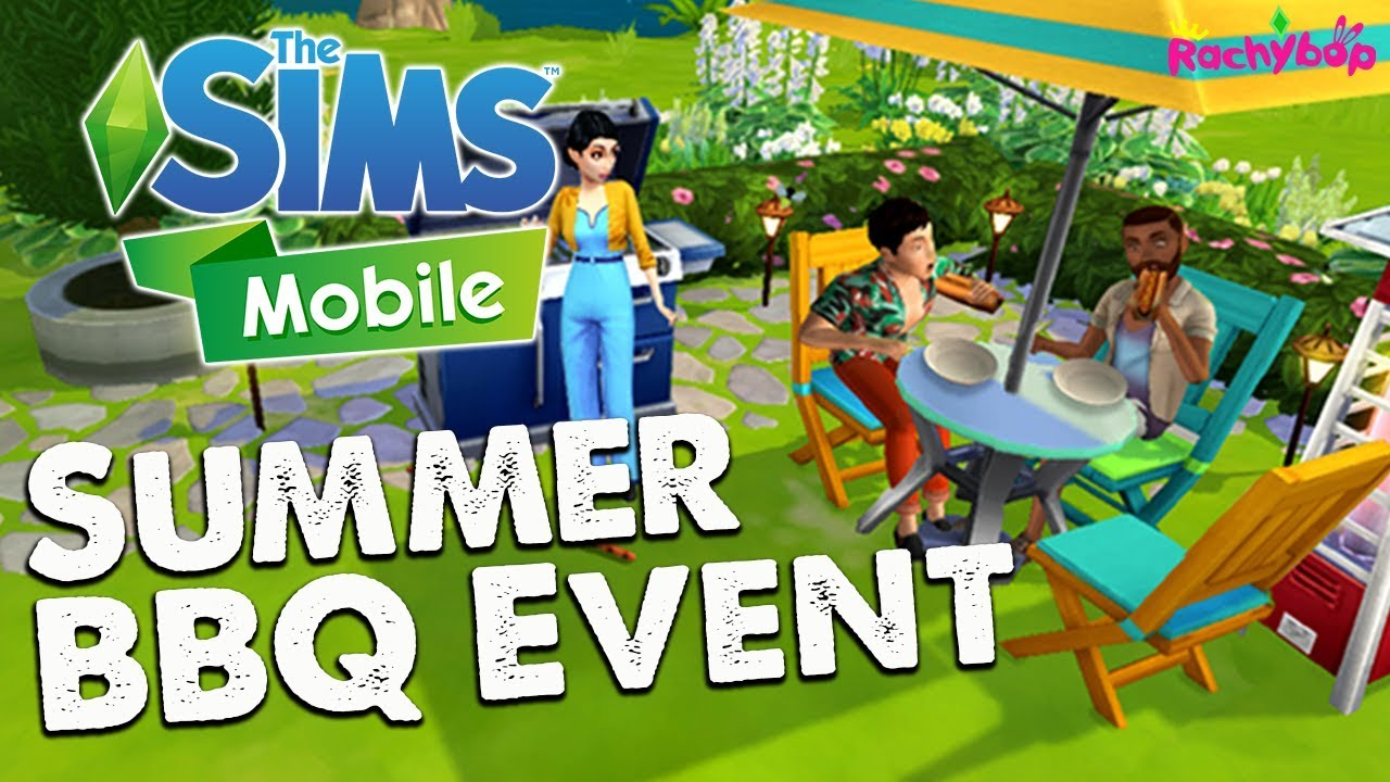 The Sims Mobile Summer Backyard Barbecue event!