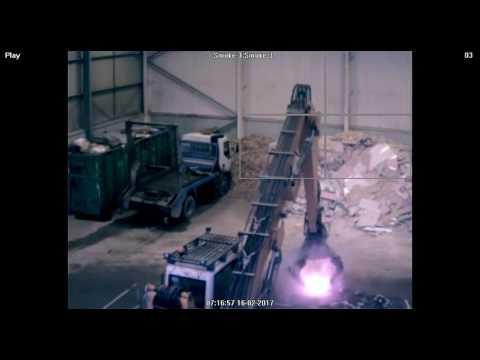 Waste Processing Fire- FireVu Multidetector