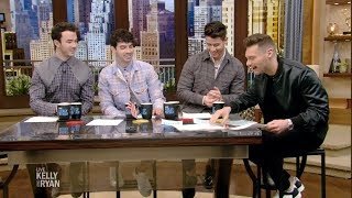 The Jonas Brothers Talk About What Helps Them Sleep