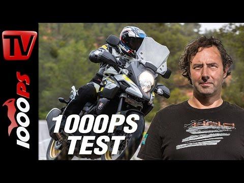 1000PS Test - Suzuki V-Strom 1000 2017