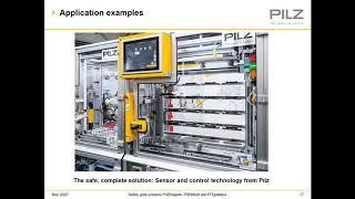 Pilz PITgatebox, PSENsgate, and PSENbolt gate access systems