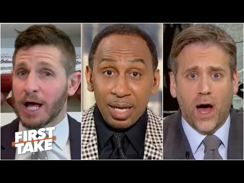 Stephen A., Max and Dan Orlovsky get fired up over Aaron Rodgers' future in Green Bay | First Take