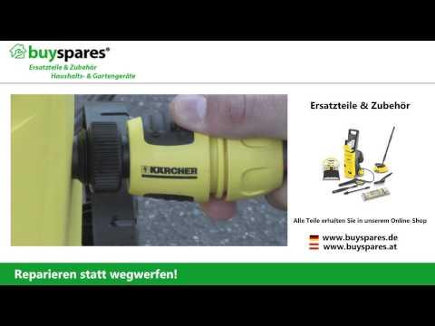 Anleitung: Kärcher Hochdruckreiniger richtig benutzen