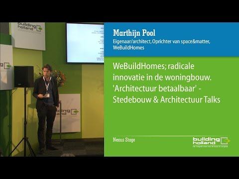 WeBuildHomes; radicale innovatie in de woningbouw