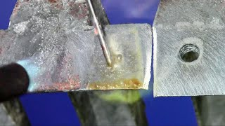 Pot Metal and Zinc Die Cast Repairs Made Easy With Super Alloy 1 Multi-Metal Solder and Flux Kit