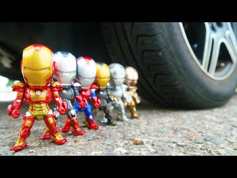 CAR VS IRON MAN