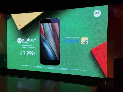 Hindi | Moto E3 Power HandsOn Review | Sharmaji Technical