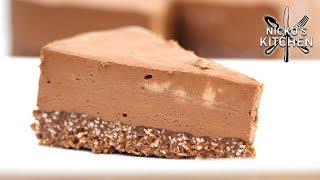 Keto Chocolate Cheesecake | No Bake Low-Carb Dessert