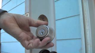 Sticking Deadbolt Fix and Troubleshoot - detailed DIY