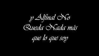 Abel Pintos-Lo que soy. (Letra)