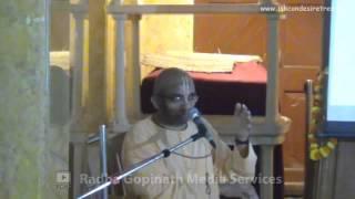 Seminar on 'Oh My God' by Chaitanya Charan Prabhu - Part 01
