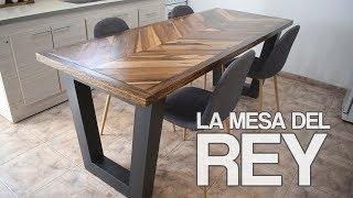 MESA ESTILO INDUSTRIAL By Easy. - PROYECTO MUEBLE (La Mesa Del Rey)