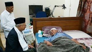 Ma'ruf Amin Kunjungi Sahabatnya KH Attabik Ali di Ponpes Krapyak