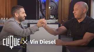 Clique x Vin Diesel (comme vous ne l'avez jamais vu)