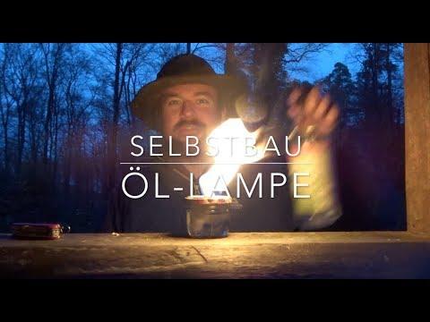 Öl-Lampe für null Euro. (Kleine Projekte)