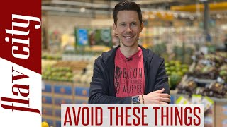 Top 5 Ingredients To AVOID In The Foods We Eat Every Day - Educational Grocery Haul