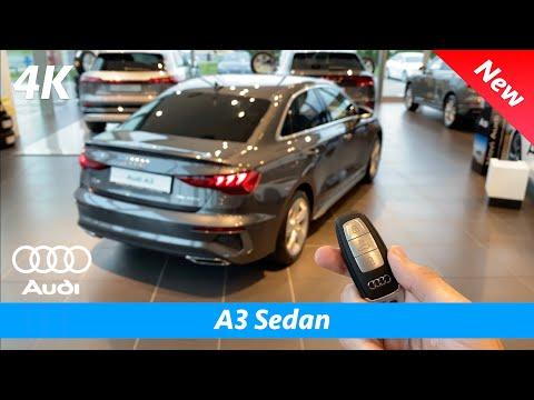 Audi A3 Sedan (S Line) 2021 - First FULL In-depth review in 4K | Interior - Exterior - MMI