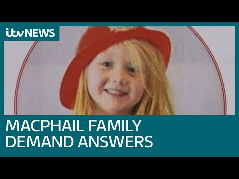 Alesha MacPhail's family reveal 'hurt' at not being told of report   ITV News