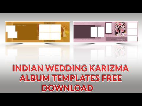 Indian Karizma album Design 12x36 Psd Templates Free download | srinu photo editing.