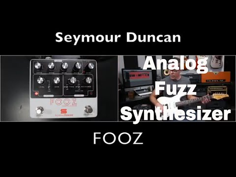 Fooz Analog Fuzz Synthesizer Demo Video by Shawn Tubbs