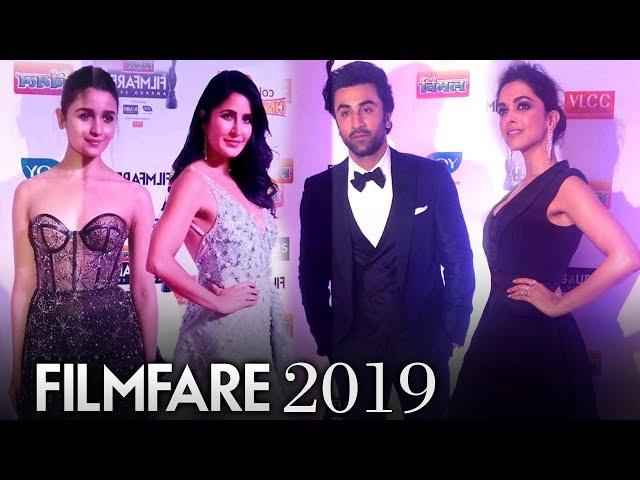 Ranbir, Alia, Katrina, Deepika | Filmfare Awards 2019 Red Carpet