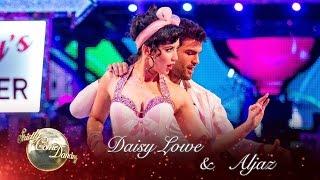 Daisy Lowe & Aljaz Skorjanec Cha Cha to 'Forget You' - Strictly Come Dancing 2016: Week 2